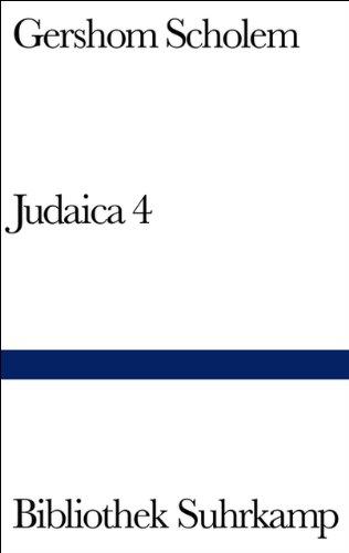 Judaica 4: Scholem, Gershom