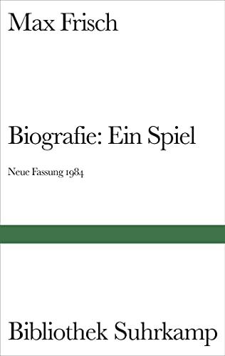 9783518018736: Biografie: Ein Spiel. Neue Fassung 1984
