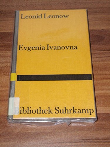 9783518019344: Evgenia Ivanova. Novelle