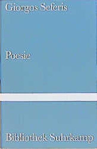 Poesie: Giorgos Seferis
