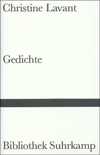 Christine Lavant: Gedichte. Herausgegeben von Thomas Bernhard. - Bernhard, Thomas (Hg.)