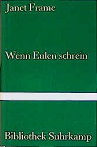 9783518019917: Wenn Eulen schrein.