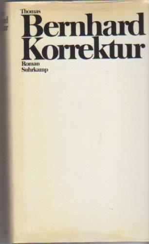 9783518021453: Korrektur: Roman (German Edition)