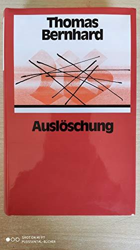 9783518025970: Ausloschung (German Edition)