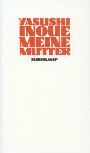 9783518026786: Meine Mutter: Erzählungen