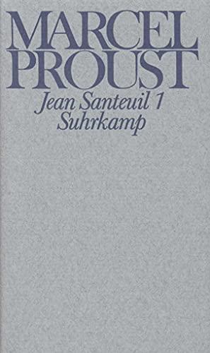 Werke. Frankfurter Ausgabe: Werke III. Band 1 und 2: Jean Santeuil: Marcel Proust, Eva ...