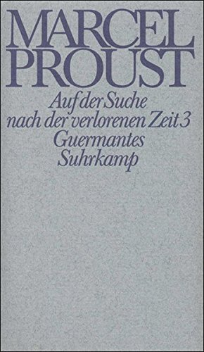 Werke. Frankfurter Ausgabe: Werke II. Band 3: Marcel Proust, Luzius