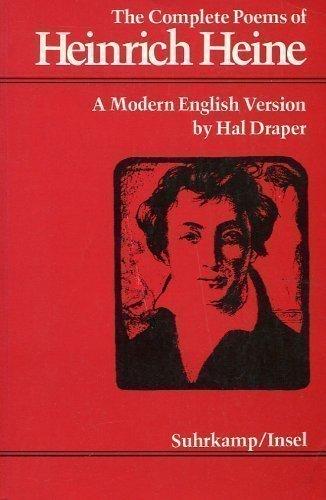 9783518030622: The Complete Poems of Heinrich Heine: A Modern English Version