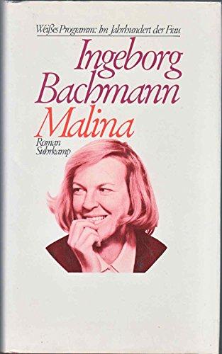 9783518032442: Malina. Roman