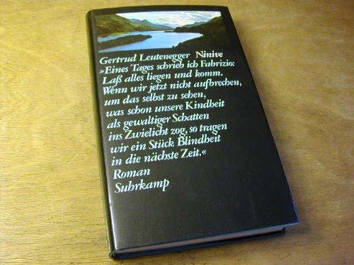 Vorabend Roman: Leutenegger, Gertrud: