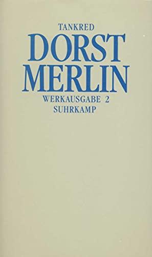 9783518035580: Werkausgabe: Band 2: Merlin oder Das wüste Land