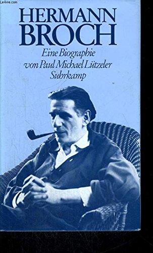 9783518035726: Hermann Broch: Eine Biographie (German Edition)
