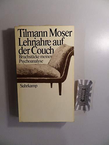 lehrjahre auf der couch von tilmann moser zvab. Black Bedroom Furniture Sets. Home Design Ideas