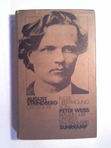 Drei Stücke in der Übertragung von Peter: Strindberg, August: