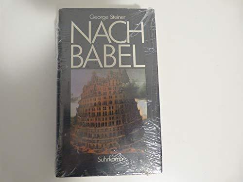 9783518043868: Nach Babel. Aspekte der Sprache und der Übersetzung