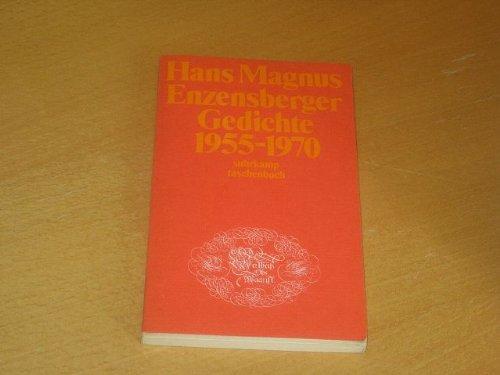 Gedichte 1955-1970. st 4: Enzensberger,Hans Magnus