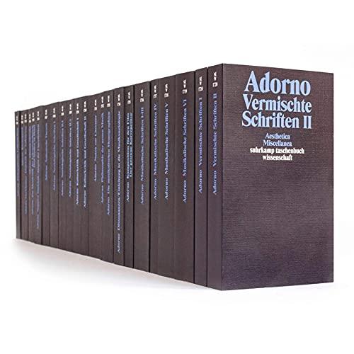 9783518065112: Suhrkamp Taschenbücher Wissenschaft, Gesammelte Schriften, 20 Bde. in 23 Tl.-Bdn.