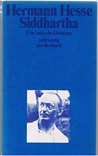 Siddhartha : eine indische Dichtung.: Hesse, Hermann: