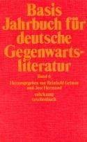 basis. jahrbuch für deutsche gegenwartsliteratur. band 6: grimm, reinhold /