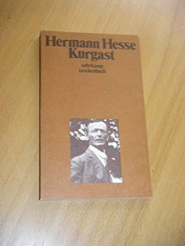 Kurgast: Aufzeichnungen von einer Badener Kur.: Hermann Hesse