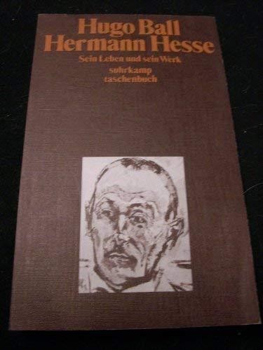 9783518068854: Hermann Hesse. Sein Leben und sein Werk.