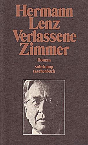 9783518069363: Verlassene Zimmer: Roman (Suhrkamp Taschenbuch ; 436) (German Edition)