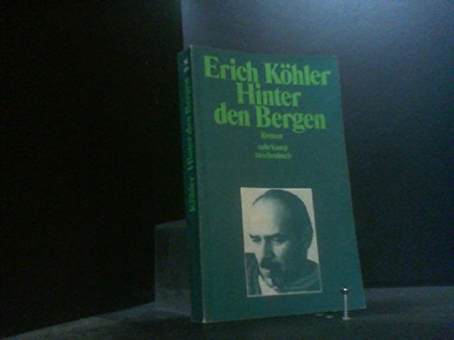 9783518069561: Hinter den Bergen: Roman (Suhrkamp Taschenbuch)