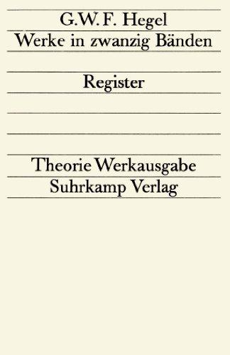 9783518072011: Register