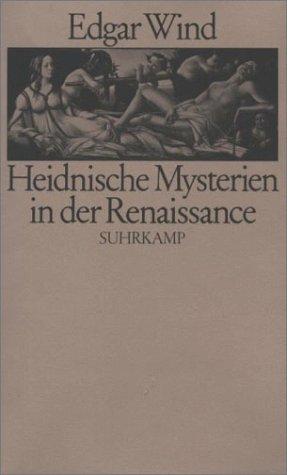 9783518075937: Heidnische Mysterien in der Renaissance. (Gebundene Ausgabe)