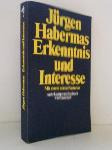 9783518076019: Erkenntnis und Interesse