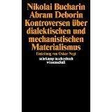 9783518076644: Kontroversen uber dialektischen und mechanistischen Materialismus