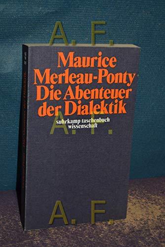 9783518077054: Die Abenteuer der Dialektik. (stw 105).