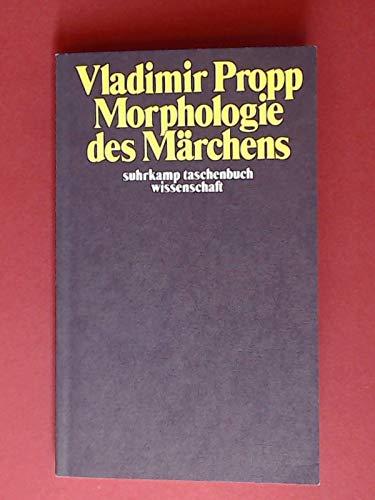 9783518077313: Morphologie des Marchens (Suhrkamp Taschenbuch Wissenschaft ; 131) (German Edition)