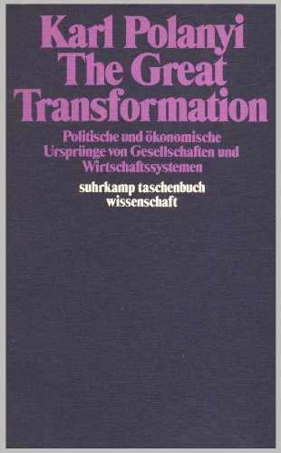 9783518078600: The Great Transformation