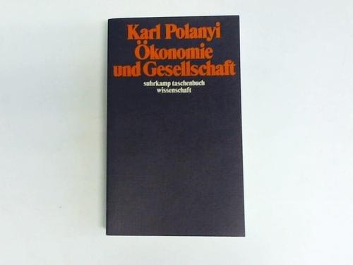 9783518078952: Ökonomie und Gesellschaft (Livre en allemand)