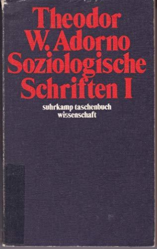 9783518079065: Soziologische Schriften I. ( = stw, 306) .