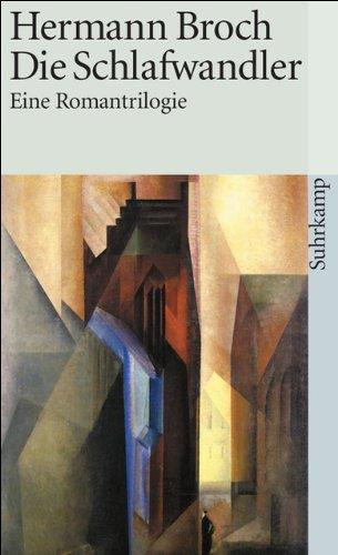 9783518095461: Romane und Erz�hlungen: Die Schlafwandler. Die Unbekannte Gr��e. Die Verzauberung. Der Tod Vergils. Die Schuldlosen. Novellen