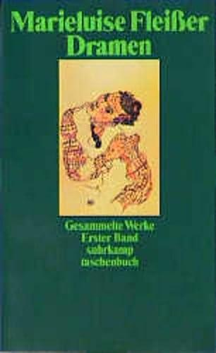 Gesammelte Werke in 4 Bänden: Fleisser, Marieluise