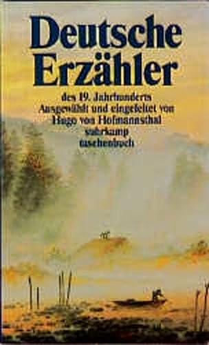 9783518097885: Deutsche Erzähler. Zwei Bände in Kassette