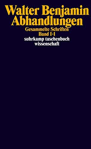 Gesammelte Schriften, 7 Bde. in 14 Tl.-Bdn.: Walter Benjamin