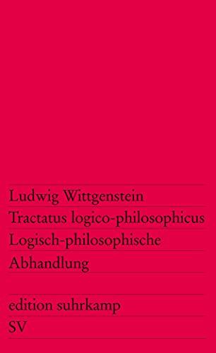 9783518100127: Tractatus logico-philosophicus / Logisch-philosophische Abhandlung