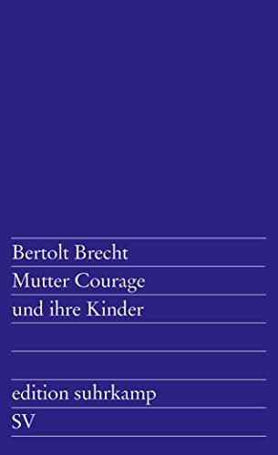 9783518100493: Mutter Courage Und Ihre Kinder (German Edition)