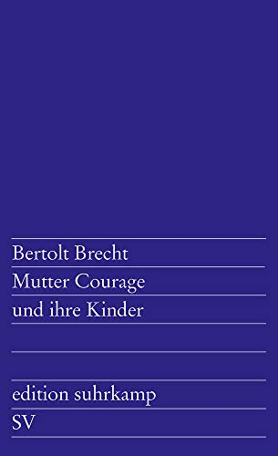 9783518100493: Mutter Courage Und Ihre Kinder