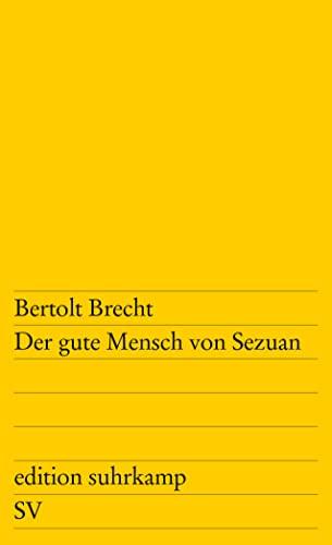 9783518100738: Der Gute Mensch Von Sezuan (German Edition)