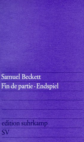 Edition Suhrkamp, Nr.96, Endspiel (3518100963) by Samuel Beckett