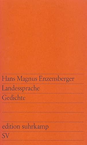 Landessprache: Enzensberger, Hans Magnus