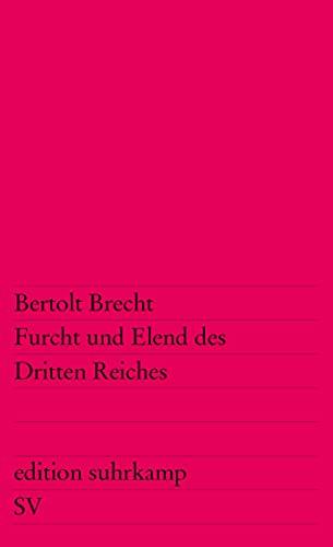 Furcht und Elend des Dritten Reiches: Brecht Bertolt