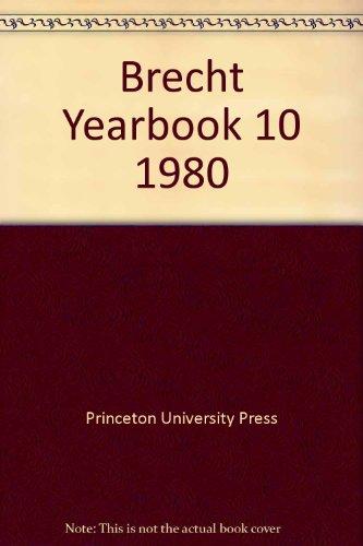Brecht-Jahrbuch 1974. - (=Edition Suhrkamp. Nr. 758).: Fuegi, John, Reinhold