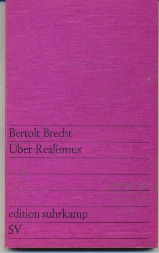 Uber Realismus: Brecht