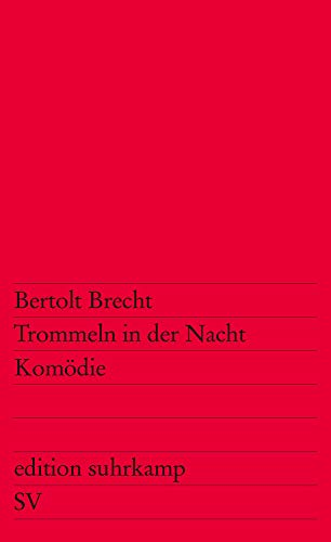 9783518104903: Trommeln in Der Nacht (German Edition)